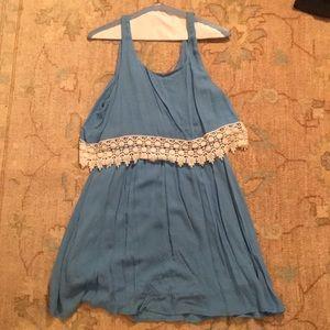 Dresses - Lace tank dress